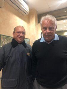 Gustavo Mirabal Bustillos junto a Felipe González